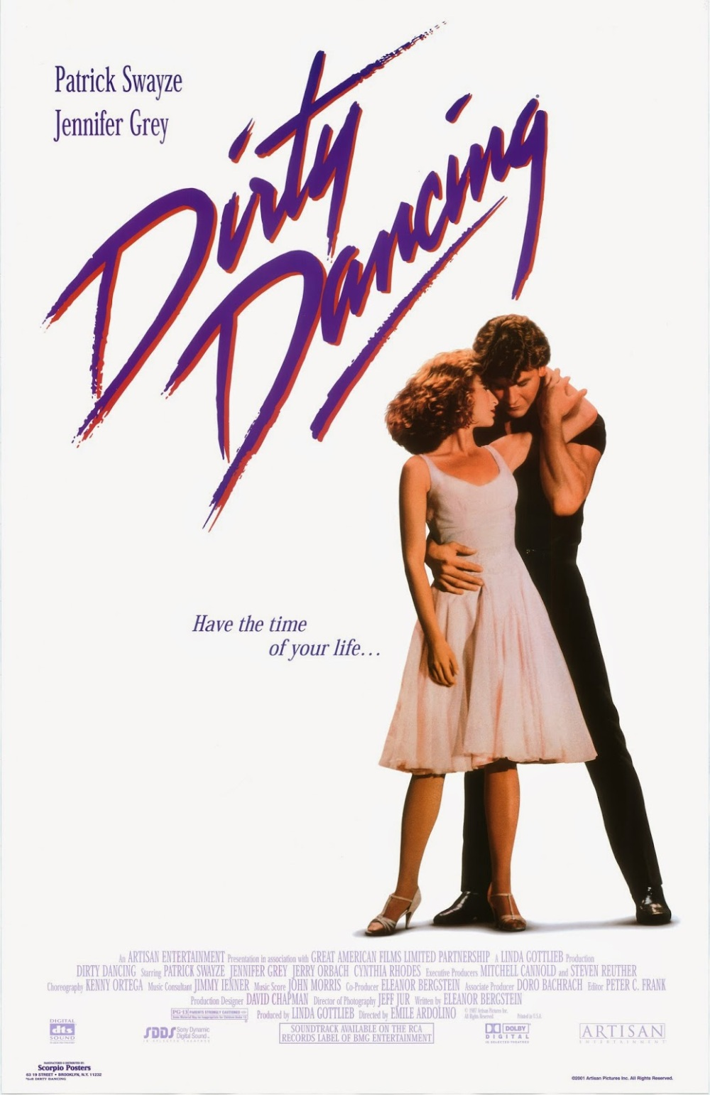 Dirty Dancing poster 1