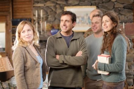 (L-R) AMY RYAN, STEVE CARELL, FRANK WOOD, NORBERT LEO BUTZ, JESSICA HECHT